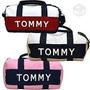 Tommy Hilfiger Bolsa Dufflle Mini Original ,legitima Rosa