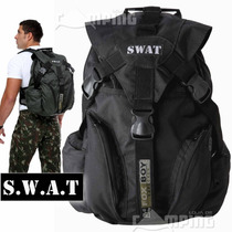 Mochila Tatica Ripstop Reforçada Swat Militar Paintball