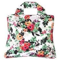 Bolsa Feminina Sacola Omnisax Ecológica - Floral Linda