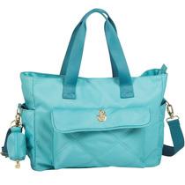 Bolsa Maternidade Su Summer Classic Celeste Master Bag