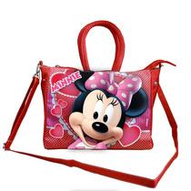Bolsa Com Alça Grande Minnie Disney Original Brilha Festa