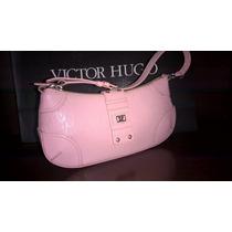 Bolsa Victor Hugo Original Rosa . Com Numero De Serie Intern