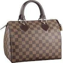 Bolsa L Vuitton Autentica Speedy 35 Sedex Gratis