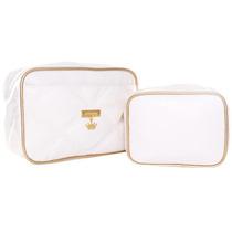 Conjunto Necessaire Classic Color Gold Master Bag