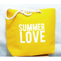 Bolsa Feminina Importada Sacola Grande Moda Summer Love