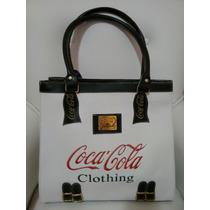 Promoção!!! Bolsa Coca-cola Similar, Couro Sintético