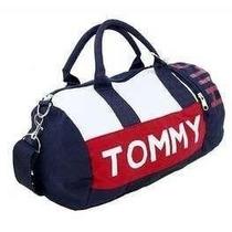 Bolsa Tommy Hilfiger Duffle Mini C/ Etiqueta Cores Original