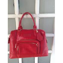Bolsa Longchamp De Couro Vermelha Nova