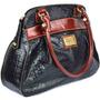 Bolsa De Couro Trabahdo Combina Com Sapato Vermelho Luxo