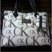 Bolsa Importada Feminina Calvin Klein Bege !
