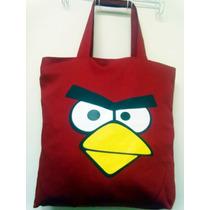 Bolsas De Tecido, Super Heróis Angry Birds