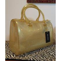 Bolsa Candy - Deli Bag - Dourada Com Glitter