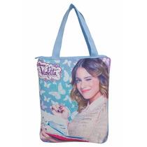 Bolsa Feminina Totte Bag Violetta Disney Borboletas