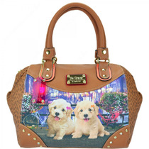 Bolsa Rafitthy Beforever Poodles Flowers 11.61107 | Catmania