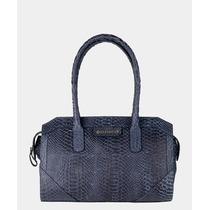 Bolsa Capodarte Azul Escuro. 26x37x9cm