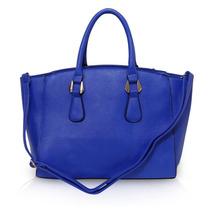 Bolsa Linda Azul Royal Bag Www.caiunamoda.com