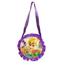 Bolsa Redonda Fadas Disney Original Brilha Festa