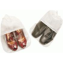 Sacos Guardar Sapatos Visor Grande Kit 6un Frete Barato