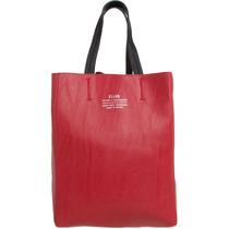 Bolsa Ellus Clássica Dupla Face 42zw313 Vermelho/preto