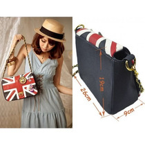Bolsa Bandeira Da Inglaterra London Rock Gotico Emo Fashion
