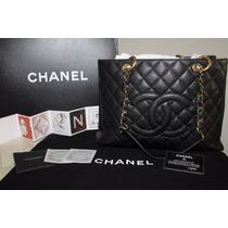 Bolsa Shopper Couro Chanel Sedex Free!!