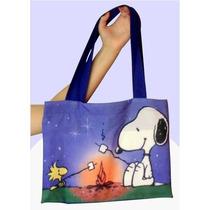 Bolsa Snoopy Sacola Snoopy