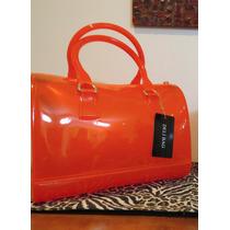 Bolsa Candy Bag - Deli Bag - Laranja Transparente