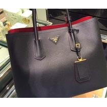 Bolsa Plada Double Bag Couro - Pronta Entrega