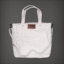 Bolsa Abercrombie & Fitch Off White 100% Original