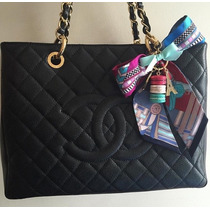 Bolsa Chanel Shopper Gst Autentica... Pronta Entrega
