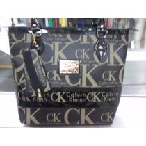 Bolsa Feminina Calvin Klein + Brinde Pochete Ck