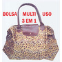 Bolsa Multi-uso 3 Em 1 : É Mini Bolsa, Bolsa E Sacola.