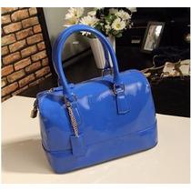 Bolsa Candy Azul - Marca Famosa