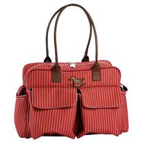 Bolsa Nice Stone Vermelha Master Bag