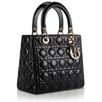 Bolsa Christian Dior Lady Di 24 Cm Sedex Gratis Todo Brasil