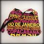 Bolsa Feminina Estampada Copacabana Rio Frete Grátis
