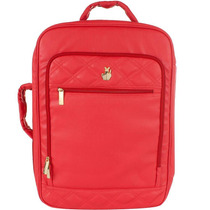 Mala De Viagem Classic Collor Matelasse Vermelha Master Bag