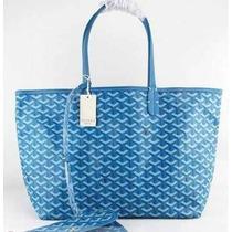 Bolsa Goyard Azul Bebe Origina Couro Legitímo+frete 12xsj Rm