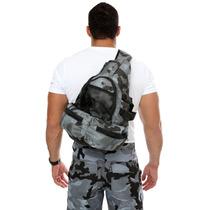 Mochila Tática Militar Transversal Fb333 Escolar Caminhada