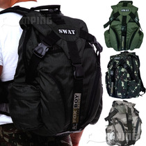 Bolsa Masculina Mochila Tatica Swat Ripstop 30 Litros Forte