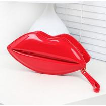 Bolsa De Boca / Beijo Com Corrente A Pronta Entrega