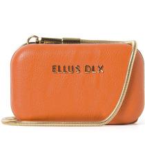 Bolsa Clutch Ellus Corrente 43zw414 Laranja