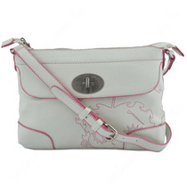 Bolsa Feminina Betty Boop Branco/ Rosa