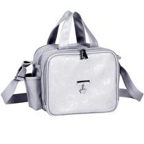 Bolsa Maternidade Térmica Butterfly Prata Master Bag