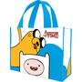 Sacola P/compras Reutilizável Adventure Time, Grande - 13173