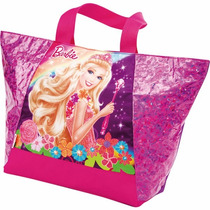 Bolsa Shopping Bag/tote Barbie Portal Secreto Ombro Sestini
