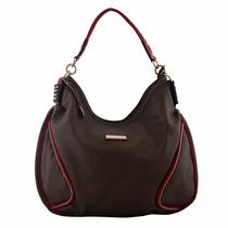 Bolsa Alice Palucci A03a104 Cinza/vermelho