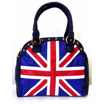 Bolsa Inglaterra Couro Sintético Moderna Reino Unido Linda