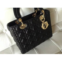 Perfeita Bolsa Cristian Dior In Black /sedex Gratis