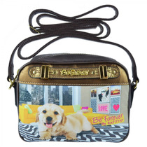 Mini Bolsa Rafitthy Beforever Funny Golden 11.61306 Catmania